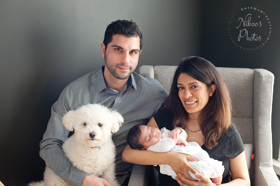 A newborn photography session in Navy Yard, Washington DC