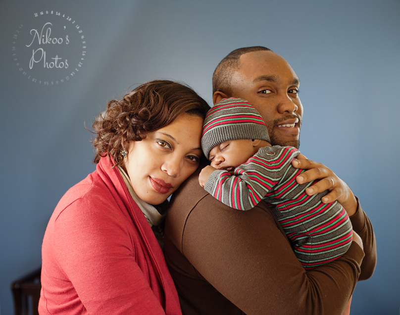 A newborn photography session in Deanwood, Washington DC