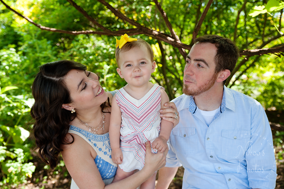 Family Photography Session at the National Arboretum in Washington DC