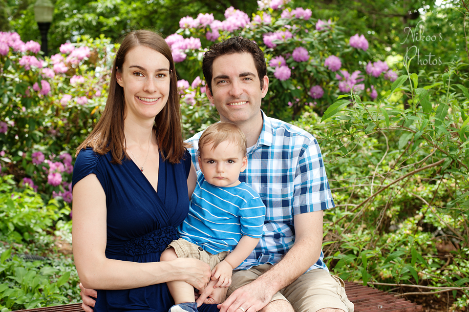 A family photography session in Bethesda, Maryland