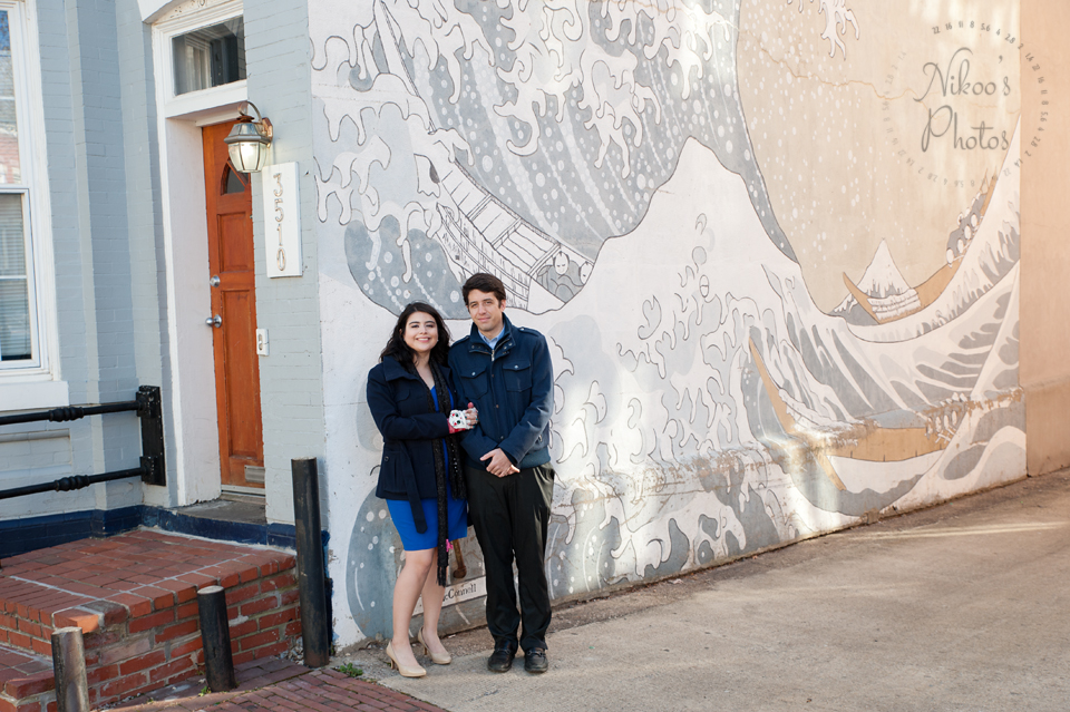 Engagement Photography Session in Georgetown